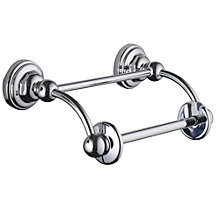 Buy Perrin & Rowe Classic Toilet Roll Holder, Chrome Online at johnlewis.com