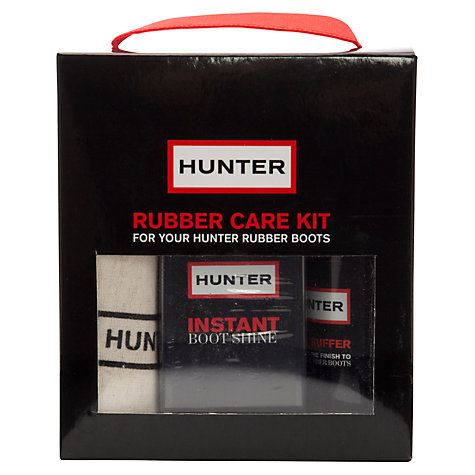 Buy Hunter Rubber Shoe Care Kit Online at johnlewis.com