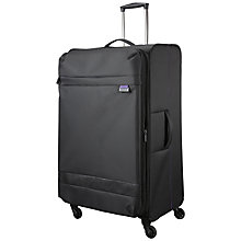 Buy John Lewis X'Air 2 4-Wheel 77cm Large Suitcase, Black/Purple Online at johnlewis.com