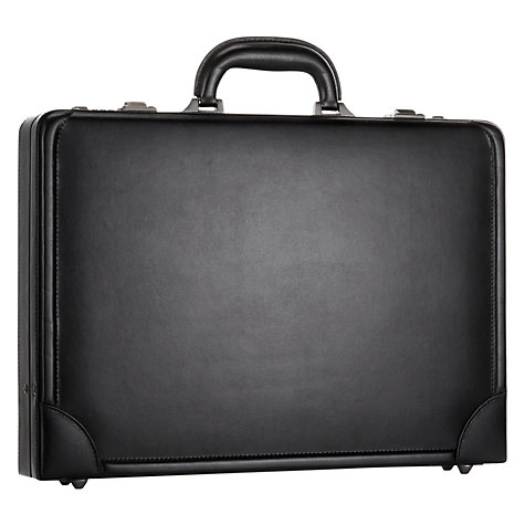 Buy John Lewis Chicago Leather Briefcase Online at johnlewis.com