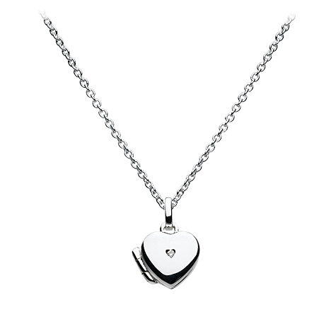 Buy Kit Heath Kids Dinky Heart Sterling Silver Locket Online at johnlewis.com