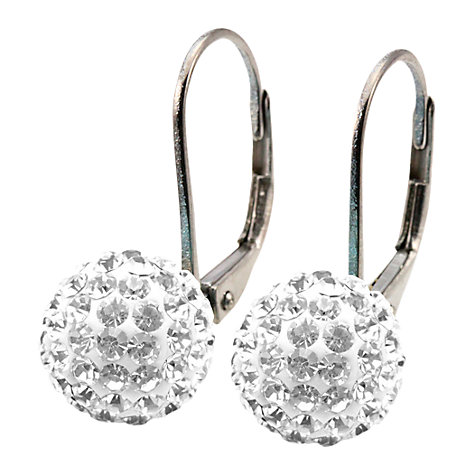 Buy Tresor Paris Crystal Drop Earrings Online at johnlewis.com