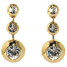 Buy Finesse Swarovski Crystal Drop Stud Earrings Online at johnlewis.com