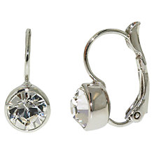 Buy Finesse Swarovski Crystal Leverback Earrings Online at johnlewis.com