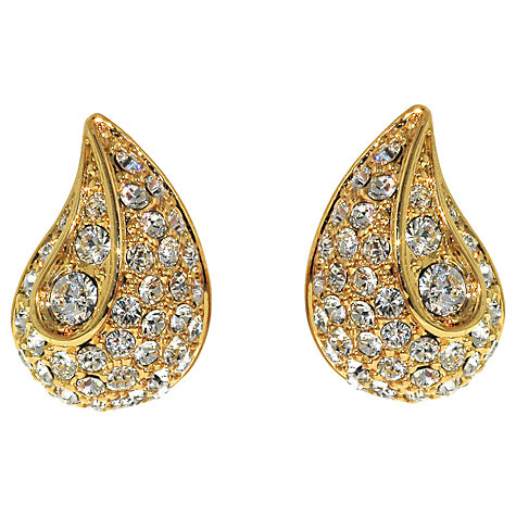 Buy Finesse Swarovski Crystal Teardrop Earrings Online at johnlewis.com