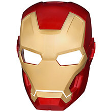 Buy Iron Man Mask, Assorted Online at johnlewis.com
