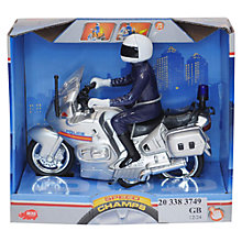 Buy Dickie Toys Police Motorbike Online at johnlewis.com