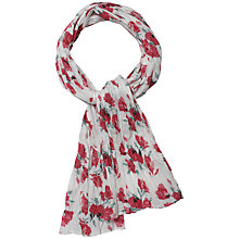 Buy Seasalt Poppy Scarf, Red Online at johnlewis.com