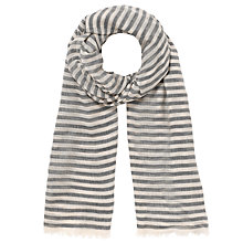 Buy Somerset by Alice Temperley Stripe Modal Scarf Online at johnlewis.com