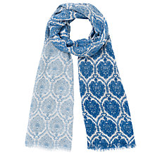 Buy Somerset by Alice Temperley Alice Wallpaper Print Scarf, Blue Online at johnlewis.com