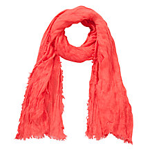 Buy Collection WEEKEND by John Lewis Textured Basket Weave Scarf Online at johnlewis.com