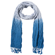 Buy Collection WEEKEND by John Lewis Cotton Crinkle Tie Dye Scarf Online at johnlewis.com