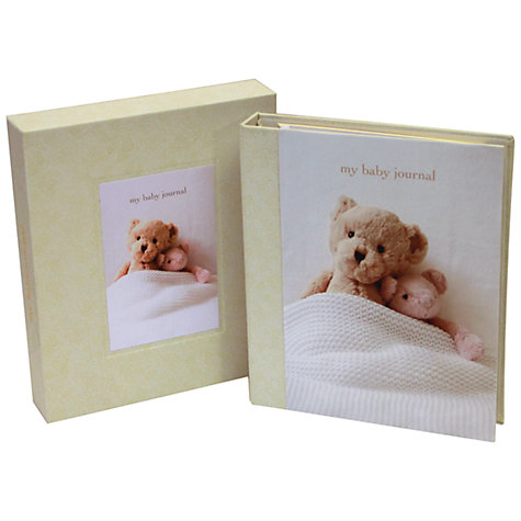 Buy Ryland Peters & Small Deluxe Baby Journal Online at johnlewis.com