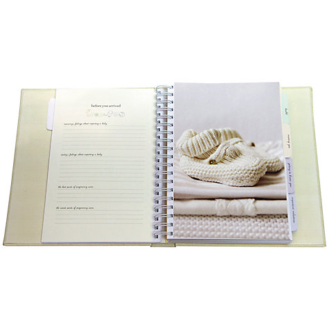 Buy Deluxe Baby Journal Online at johnlewis.com