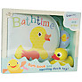 Bath Book and Squirting Duck Toy Set
