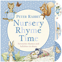 Buy Beatrix Potter Peter Rabbit Nursery Rhyme Time Book Online at johnlewis.com
