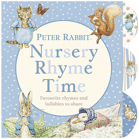 Buy Peter Rabbit Nursery Rhyme Time Book Online at johnlewis.com
