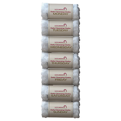 Buy MERUMAYA Daily Cleansing Cloths™ Online at johnlewis.com