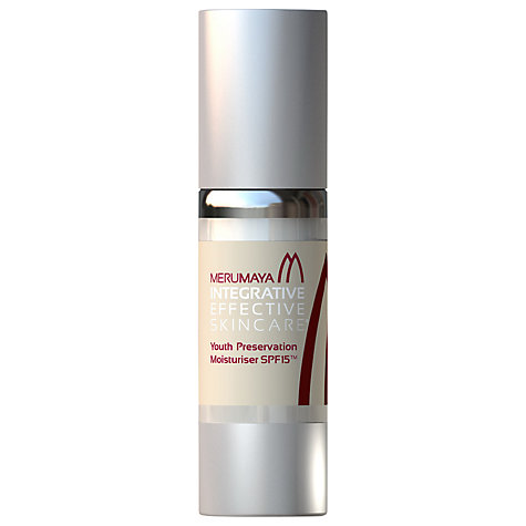 Buy MERUMAYA Youth Preservation Moisturiser™ SPF15, 30ml Online at johnlewis.com