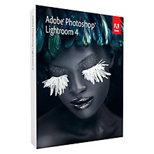 Buy Adobe Lightroom 4, Creative Photo Software Online at johnlewis.com