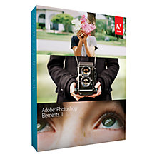 Buy Adobe Photoshop Elements V11, Photo Editing Software Online at johnlewis.com