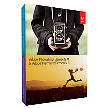 Buy Adobe Photoshop and Premiere Elements, Photo and Video Editing Software Online at johnlewis.com