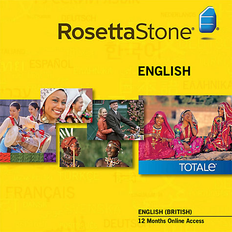 Buy Rosetta Stone 12 Months Online Access, English Online at johnlewis.com