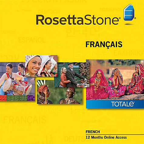 Buy Rosetta Stone 12 Months Online Access, French Online at johnlewis.com