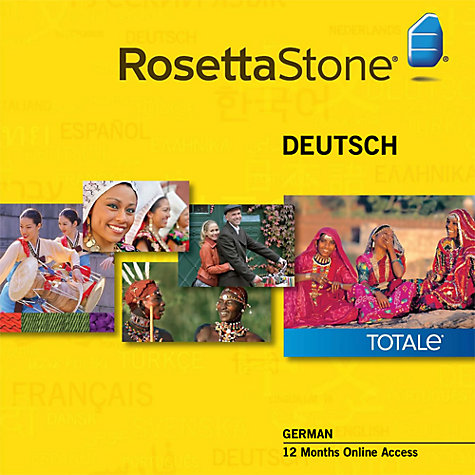 Buy Rosetta Stone 12 Months Online Access, German Online at johnlewis.com