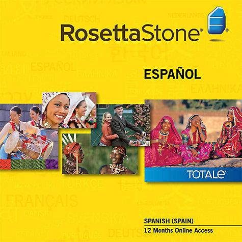 Buy Rosetta Stone 12 Months Online Access, Spanish Online at johnlewis.com