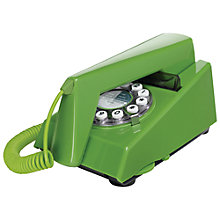 Buy Wild and Wolf Trim Classic Corded Telephone, Green Online at johnlewis.com