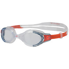 Buy Speedo Junior Futura Biofuse Swimming Goggles, Blue/clear Online at johnlewis.com