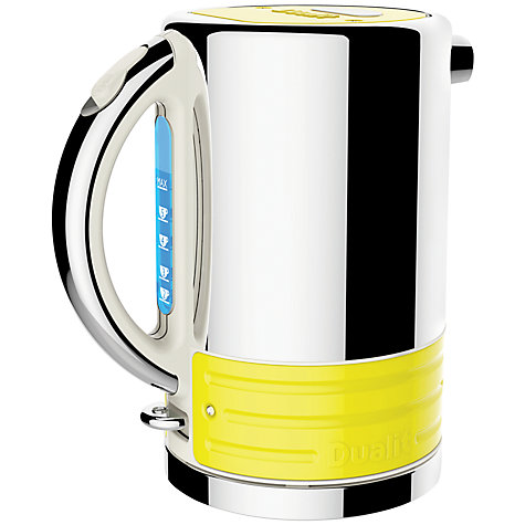 Buy Dualit 16037 Architect Kettle Panel, Yellow Online at johnlewis.com