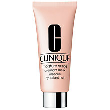 Buy Clinique Moisture Surge Overnight Mask, 100ml Online at johnlewis.com