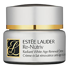 Buy Estée Lauder Re-Nutriv Radiant White Age-Renewal Creme, 50ml Online at johnlewis.com