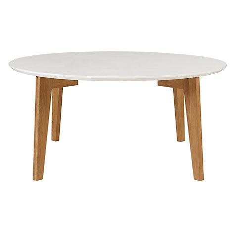 Buy house by john lewis abin coffee table white oak for Coffee tables john lewis