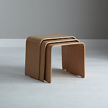 Buy John Lewis Bentwood Nest of 3 Tables Online at johnlewis.com