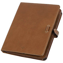 Buy Mulberry Adjustable Leather Sleeve for iPad, Oak Online at johnlewis.com