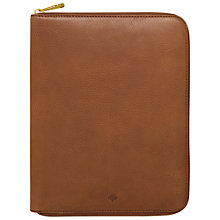 Buy Mulberry Leather iPad Folio, Oak Online at johnlewis.com