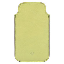 Buy Mulberry iPhone Cover, Pistachio Online at johnlewis.com