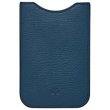 Buy Mulberry iPhone Cover, Slate Blue Online at johnlewis.com