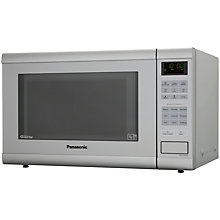 Buy Panasonic NN-ST462M Microwave Oven, Silver Online at johnlewis.com