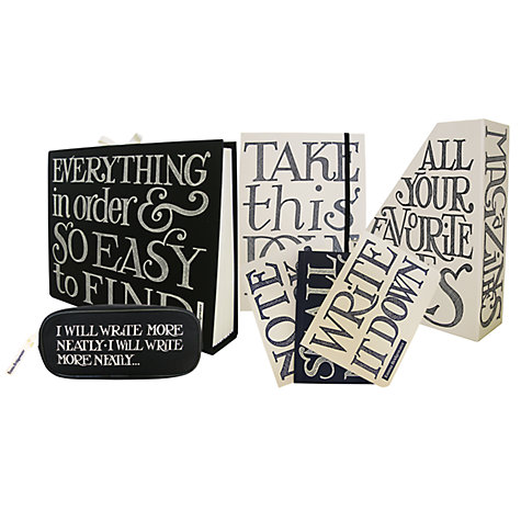 Buy Emma Bridgewater Black Toast A5 Notebook Online at johnlewis.com