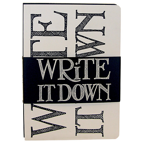 Buy Emma Bridgewater Black Toast Journals, Pack of 3 Online at johnlewis.com