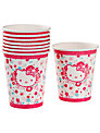 Hello Kitty Paper Cups, Pack of 8