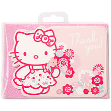 Buy Hello Kitty Thanks You Cards, Pack of 8 Online at johnlewis.com