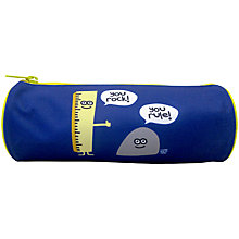 Buy Stupid Factory Pencil Case, Blue Online at johnlewis.com