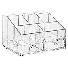 Buy John Lewis Acrylic Organiser Online at johnlewis.com