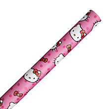 Buy Hello Kitty Wrapping Paper, Pink, L3m Online at johnlewis.com