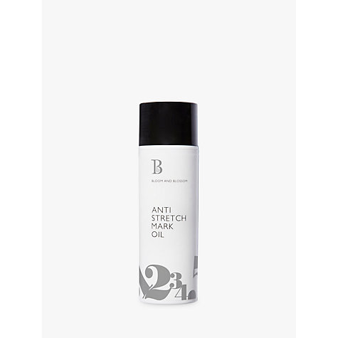 Buy Bloom and Blossom Anti Stretch Mark Oil, 100ml Online at johnlewis.com